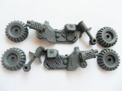 chaos space marine bike frame & wheels